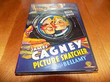 PICTURE SNATCHER JAMES CAGNEY Ralph Bellamy Film Noir 1930's Classic DVD SEALED