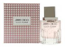 JIMMY CHOO ILLICIT FLOWER EAU DE TOILETTE 40ML SPRAY - WOMEN'S FOR HER. NEW