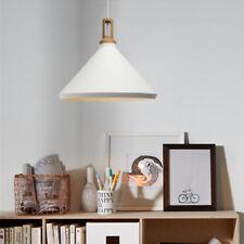 Modern Pendant Light Office Wood Lamp Kitchen White Ceiling Lights Bar Lighting