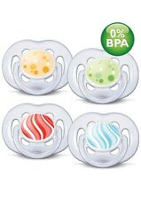 Philips Avent BPA Free Freeflow Pacifiers 6-18 Months 2...