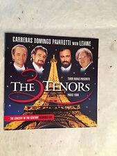 CARRERAS DOMINGO PAVAROTTI LEVINE THE TENORS DECCA 460 500-2 1998 CLASSICA