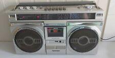Vintage Sanyo M 9935K Boombox Ghettoblaster Stereo Radio Cassette Player