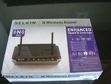 NEW IN BOX BELKIN N WIRELESS ROUTER F5D8233-4