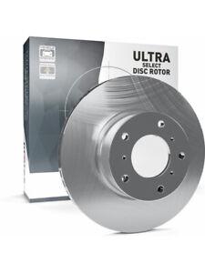 2 x Protex Ultra Select Slotted Brake Rotor FOR SUBARU LIBERTY BP5 (SDR653HXS)