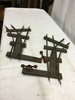 Vintage American Flyer 2 Track Switches Manual Operation Left & Right S Gauge