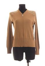 *** LIU JO *** Women's Beige long sleeved Wool Blend Zip Cardigan Size L