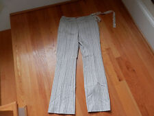 Intuitions Casual Dress Pants Stretch Size 4 Striped