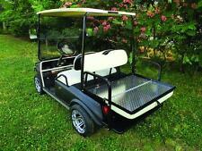 TAN EZGO Rear Flip Seat for EZGO TXT Golf Cart 1994 to Current Year