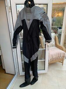 Crewsaver Drysuit & Fleece Under suit -  size Large VGC