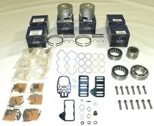WSM Outboard Mercury 200-250 Hp 3.0L Optimax Power Head Rebuild Kit Oval 3.6265""