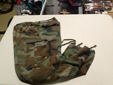 1980's Military PANTS Small reg. BDU Woodland Camouflage 50/50 Combat Trouser