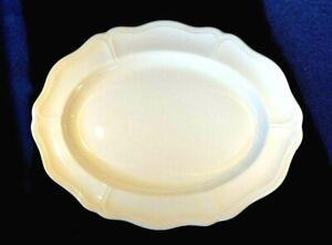 Beautiful Wedgwood Queen's Plain / Queens Shape Large Oval Platter