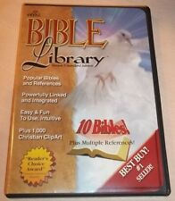Ellis Bible Library Version 5 (2001, PC, Windows 3.1 & Above) VGC