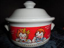 VINTAGE Retro Campbell's Soup Bowl with Lid 1998 M'm! M'M! Good!  EUC