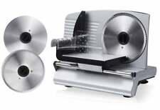 Metall-Allesschneider Wellenschliff und Feinschliff-Messer Brotschneide-Maschine