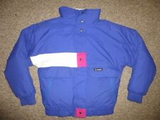 GERRY Blue/Pink Warm Winter DOWN JACKET Ski Coat Size Women's 12 Cute! Ladies