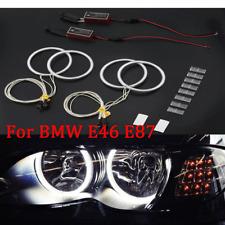 Professional White LED CCFL Angel Eyes Halo Rings Kit for BMW E46 E87 ZD