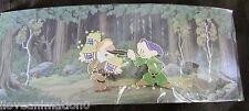 Pin 98395 WDI Seven Dwarfs New Fantasyland Fence Dopey & Sneezy LE 200 Pin