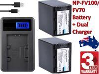 Reino Unido Batería Para Sony Dcr-sr100 Dcr-sr300 Np-fv100 7.4 v Rohs