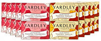 Yardley London Moisturizing Bath Bar Soap Limited Edition 4.25 oz. Lot of 10