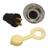 Sea Dog 426142-1 Polarized Cable Electrical Outlet 12//24V