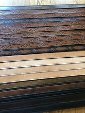 New listing 19 Bevel Edge Design Genuine Leather Belts