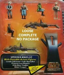 STAR WARS MICRO MACHINES BATTLE PACKS #1 REBEL ALLIANCE YODA LUKE LOOSE COMPLETE