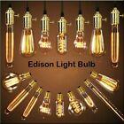 E27 E14 B22 Screw Lampadine Edison Vintage LED Lampada Filamento Luce Caldo NEW