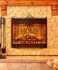 The Lakeside Collection Decorative Fireplace Screens - Home Sweet Home