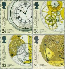 Groß Britannien 1660/63 1993 300. Jahrestag der John Harrison-Uhrmacher-Luxus