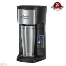 Russell Hobbs 22630 Brew and Go Coffee Machine Stainless Steel & Black Accents