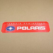 Vintage Polaris Terrain Dominator Snowmobile 2010 Decal Sticker