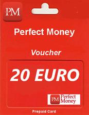 PERFECT MONEY | KOD | VOUCHER | 20 EURO | TOP SPRZEDAWCA | TANIO !