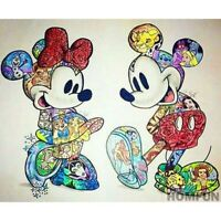 Full Drill 5D Diamond Painting Mickey Home Embroidery Decor Cross Stitch Kits