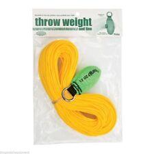 Throw Weight & Line Kit,Weaver,12oz x 150' Rope, Neon Green Throw Weight