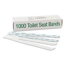 Bagcraft Papercon Sani-Shield Printed Toilet Seat Bands - 300591