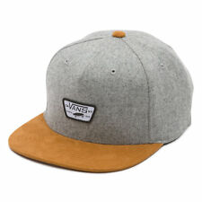 Van's Off the Wall Mini Full Patch Starter Collab Snapback Cap Hat Skating Gray