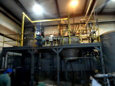 USED 600 AND 1,200 GALLON STAINLESS STEEL DIMPLE JACKETED MIX  TANKS,LOAD CELLS