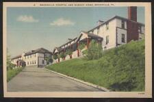 Postcard Brookville Pa/Pennsylvania City Hospital Building & Nurses Home 1930'S