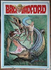 BRICK BRADFORD tavole domenicali a colori collana gertie daily 132 comic art