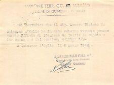 498) WW2, RSI, CARABINIERI QUINZANO D'OGLIO, BRESCIA.