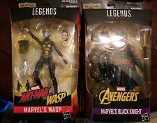 "2 Figures-Hasbro Marvel Legends Cull Obsidian BAF Antman & Black Knight 6"""