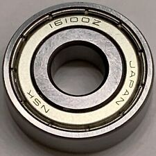 16100ZZ  NSK 10 PCS  DOUBLE SHIELDED BEARING  FACTORY NEW  SHIPS FROM THE U.S.A.
