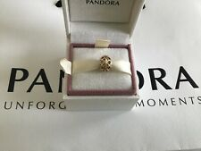 Pandora Solid 14ct Gold Barrel Charm, SUPERB CONDITION
