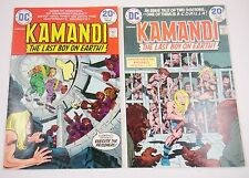 KAMANDI #15,16  KIRBY CLASSIC GLOSSY 8.0 TO 9.0