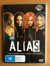 ALIAS ~ COMPLETE FIRST SEASON 1ST ONE 1 ~ REGION 4 ~ FREE POST