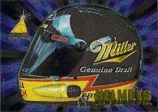 RUSTY WALLACE ; 1995 ZENITH HELMENTS INSERT CARD No. 2/10
