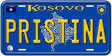 Pristina Kosovo Novelty Car License Plate