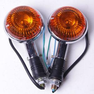 Turn Indicator Signal Lens For YAMAHA XV535 XV920 Virago VMAX1200 XVS650 V-Star