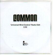 (75J) Common, Universal Mind Control - DJ CD